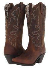 Laredo Women Goat Skin Wide Calf Western Cowboy Cowgirl Fashion ...
