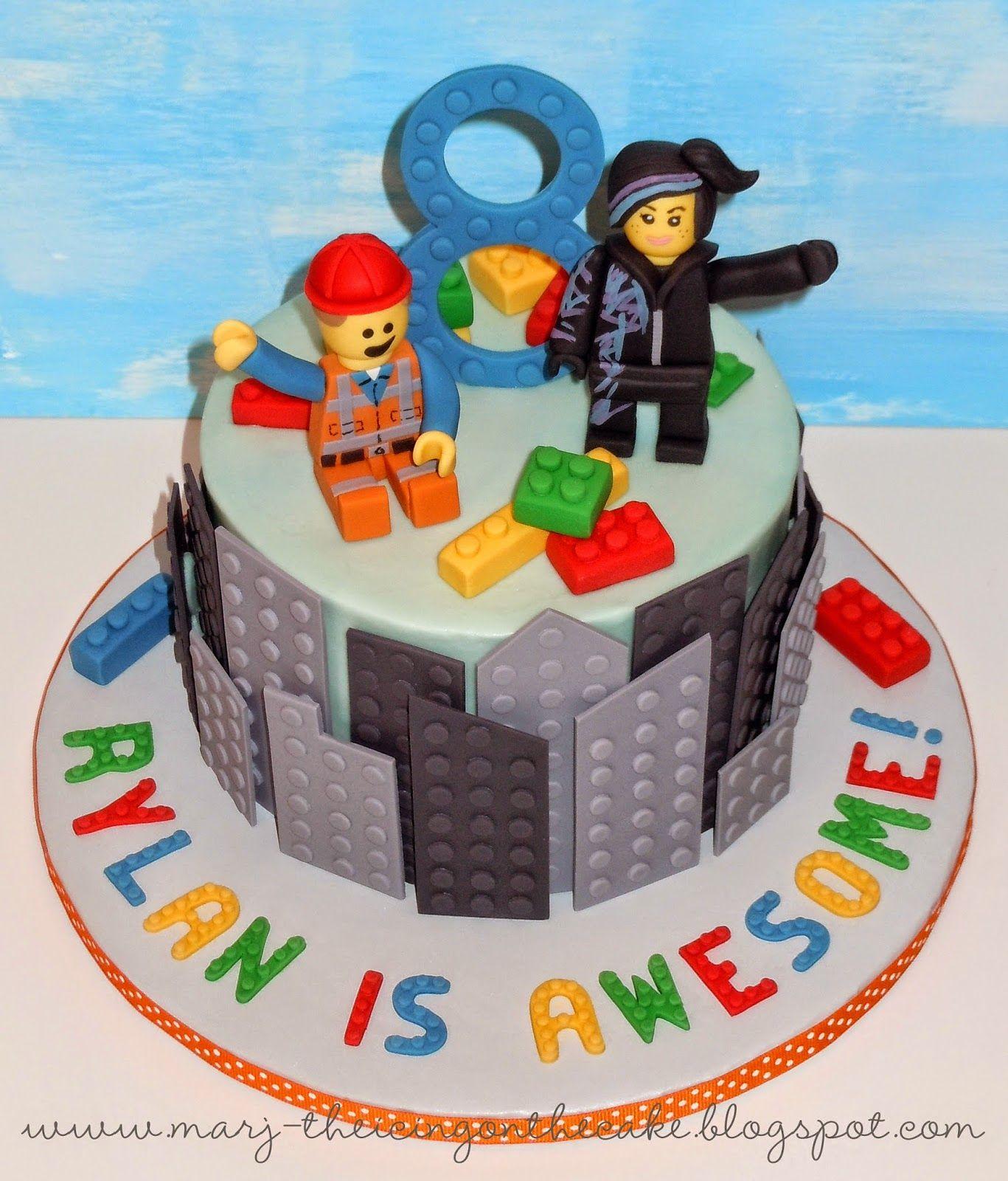 Super The Lego Movie Lego Movie Cake Movie Cakes Lego Cake Birthday Cards Printable Trancafe Filternl
