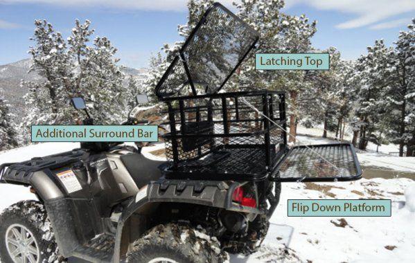 Atv Dog Carrier Vehicles Atv Dog Seat Quad Bike