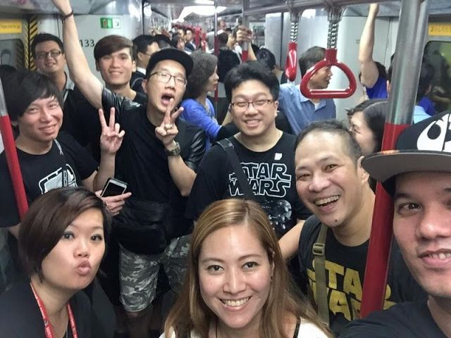 galaxy fantasy star wars reuni en hong kong a miles de jvenes fans en su