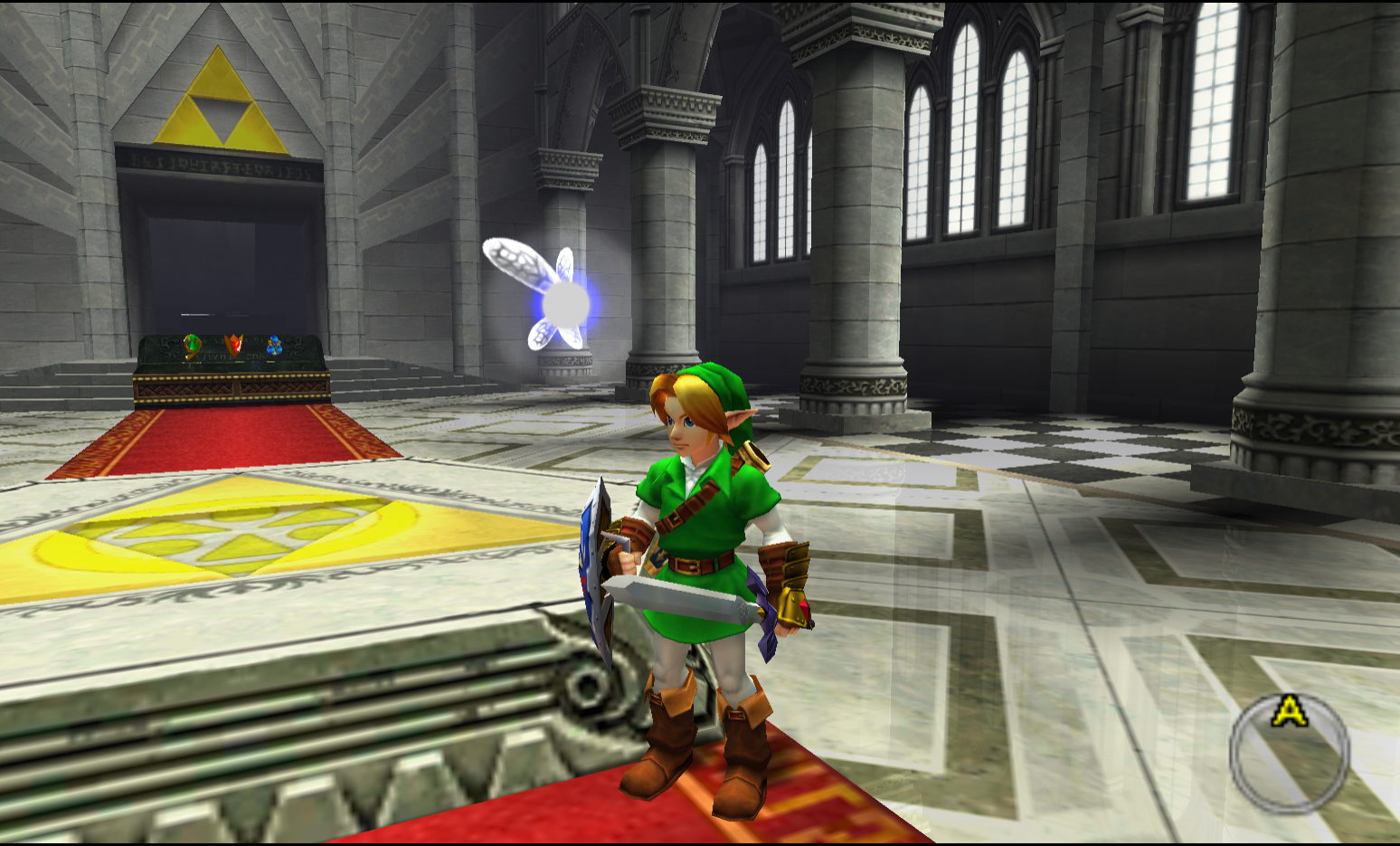 We may never get an HD-remake of Ocarina of Time but with