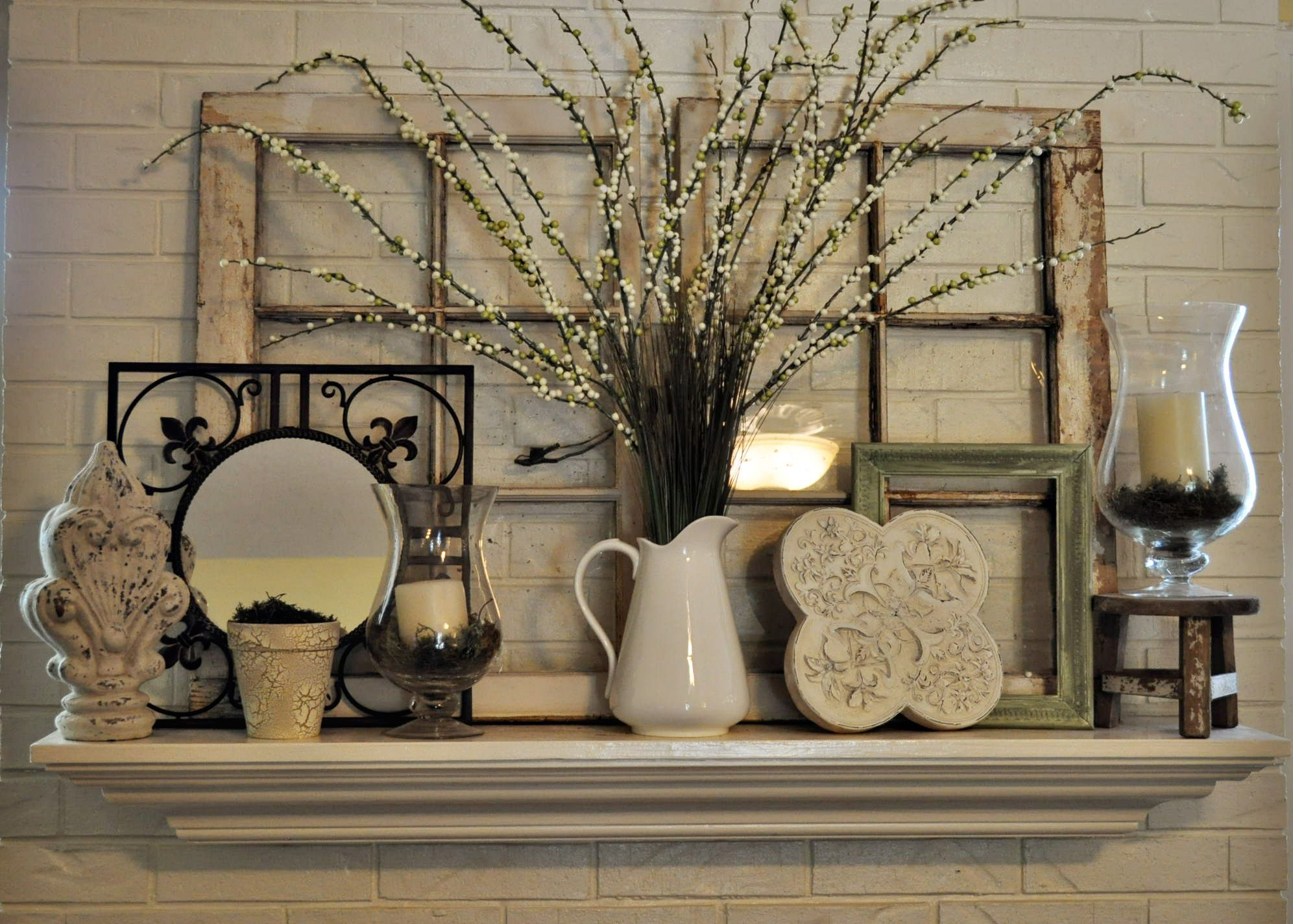 Mantelpiece Ideas Decorating A Mantel Or Shelf Decor In 2019 Home Decor