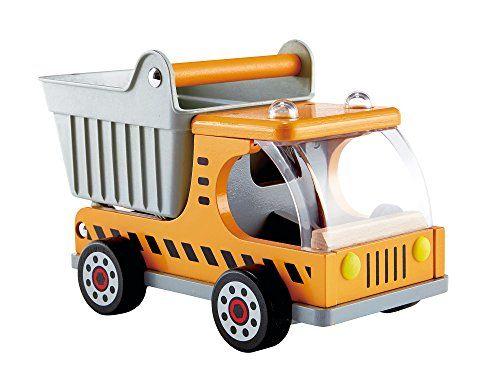 Hape küchenzubehör ~ Hape dump truck kid s wooden construction toys vehicle