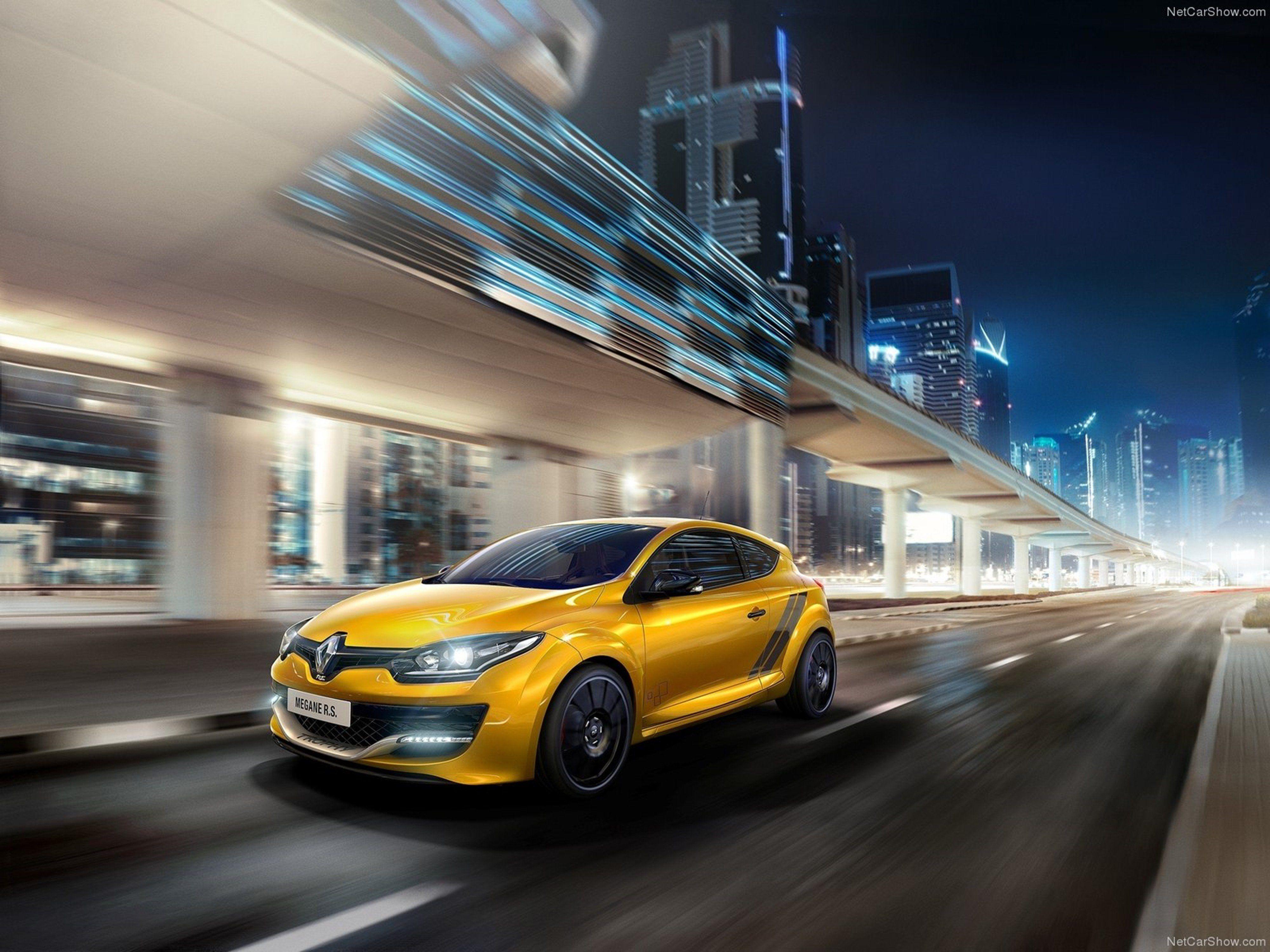 Renault Megane RS Trophy Car France Wallpaper Sport