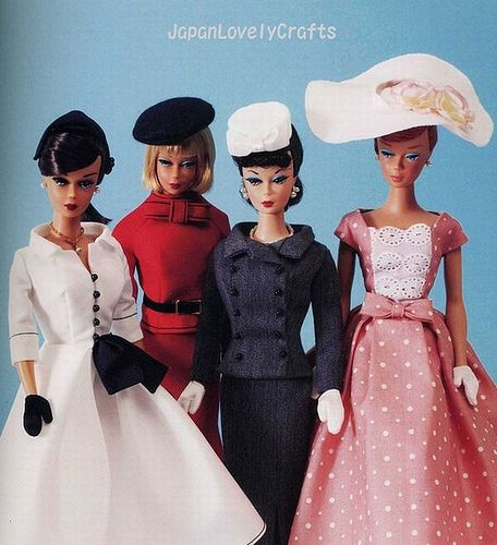 Free Doll Clothes Patterns Free Vintage Knitting Patterns Barbie