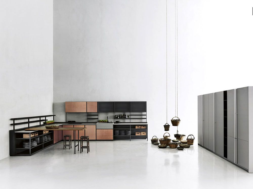 Freestanding Kitchens Kitchen Salinas A By Boffi Kitchens