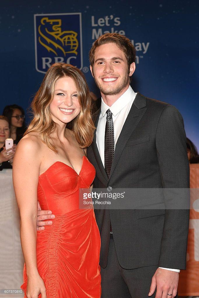 Melissa Benoist L And Husband Actor Blake Jenner Attend The Edge Of Blake Jenner Melissa Benoist Melissa Benoist Blake Jenner