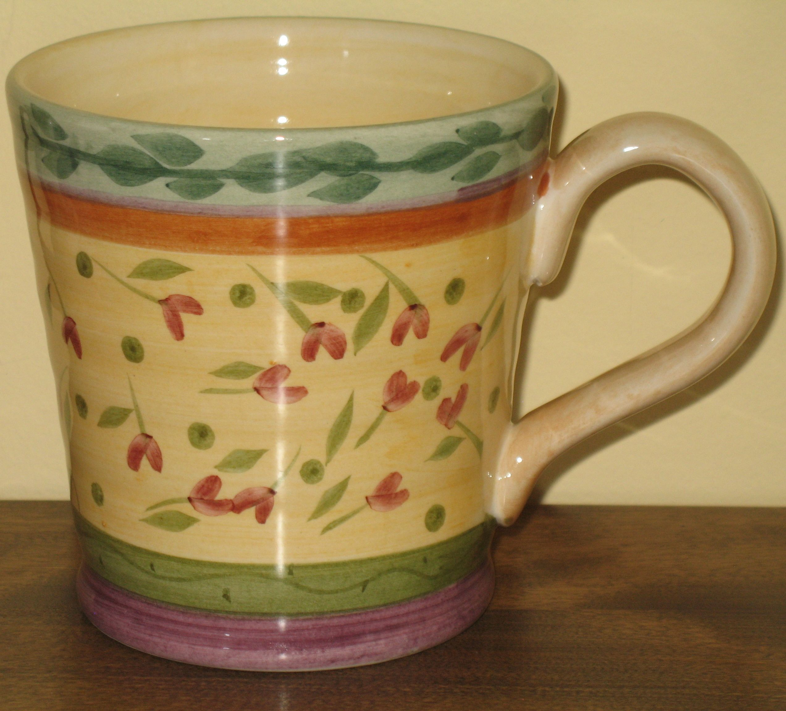 Julie Ingleman Designs Yellow Coffee Mug from the Culinary