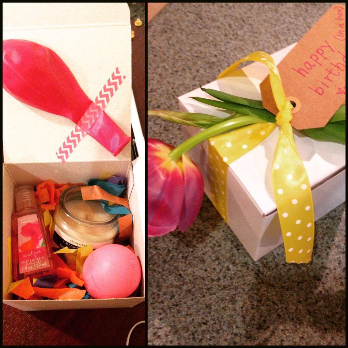 A simple birthday box