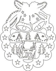 Bastelbedarf Montagezubehor Vorlage Fb Dopp Holzfaller Holzkunst Aus Dem Erzgebirge Kun Weihnachtsschablonen Weihnachtsmalvorlagen Schablonen Weihnachten