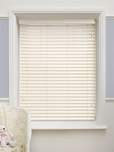 how to paint wooden blinds white