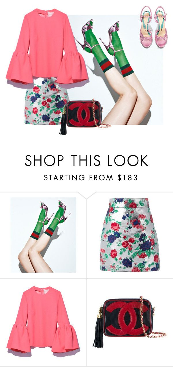 """""""In the air"""" by cherieaustin on Polyvore featuring MSGM and Chanel"""