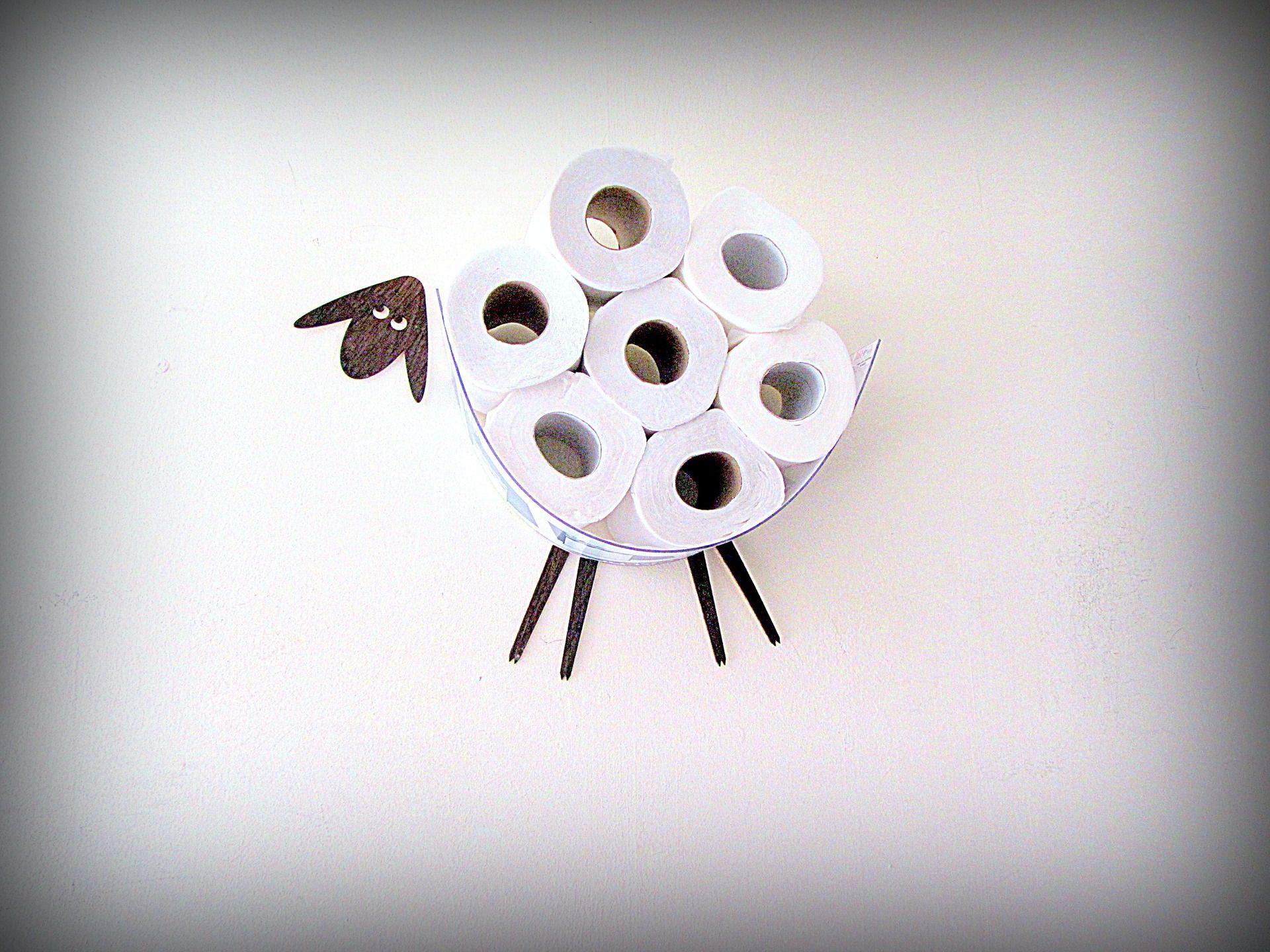 Mini Sheep. Une petite étagère pour stocker des rouleaux de papier toilette (10) : Meubles et ...