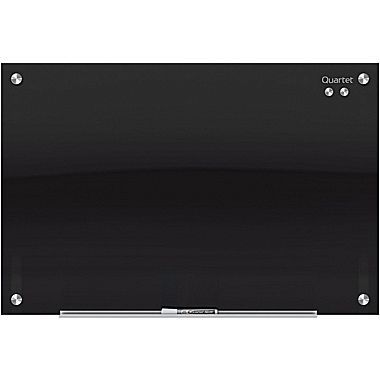 Quartet Infinity Magnetic Glass Marker Board Black Glass 4 X 3 At Staples In 2020 Glass Dry Erase Glass Marker Glass Office
