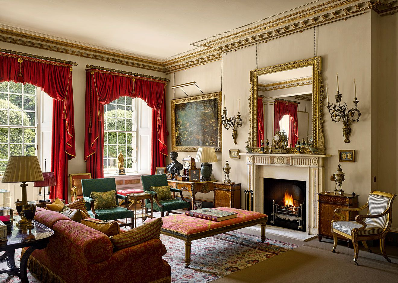 Clarence house photographed by will pryce for the country