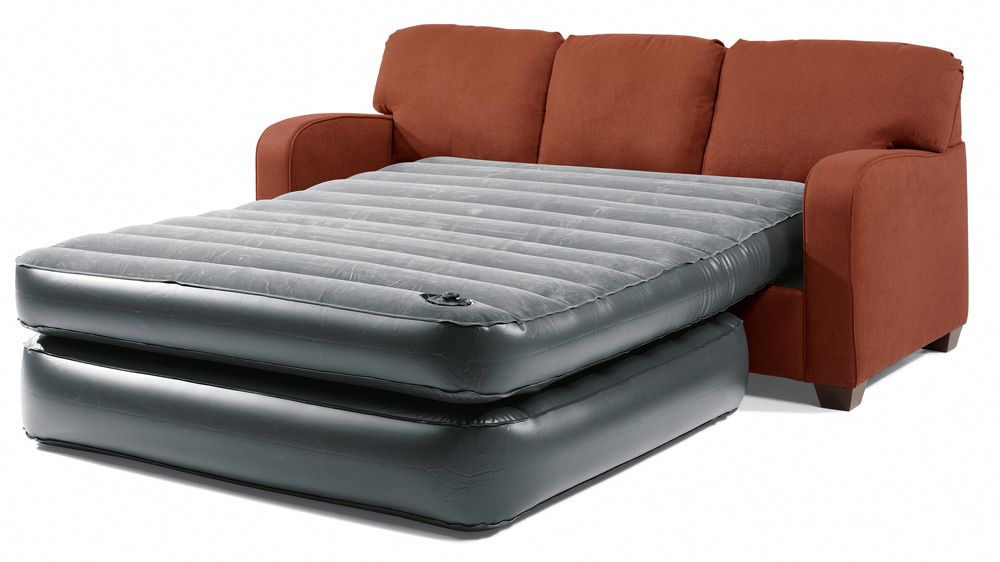 An Air Mattress That Can Turn Any Sofa Into A Bed Just Take Cushions Off Up