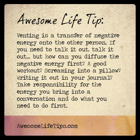 Awesome Positive Life Quotes: Awesome Life Tip: Diffuse The Negative Energy >> Www