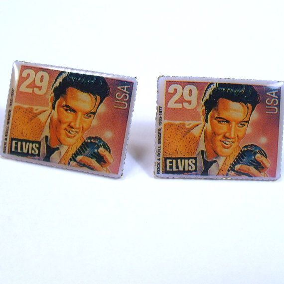 Vintage 1992 commemorative Elvis Presley 29 cent by jewelry715, $16.00