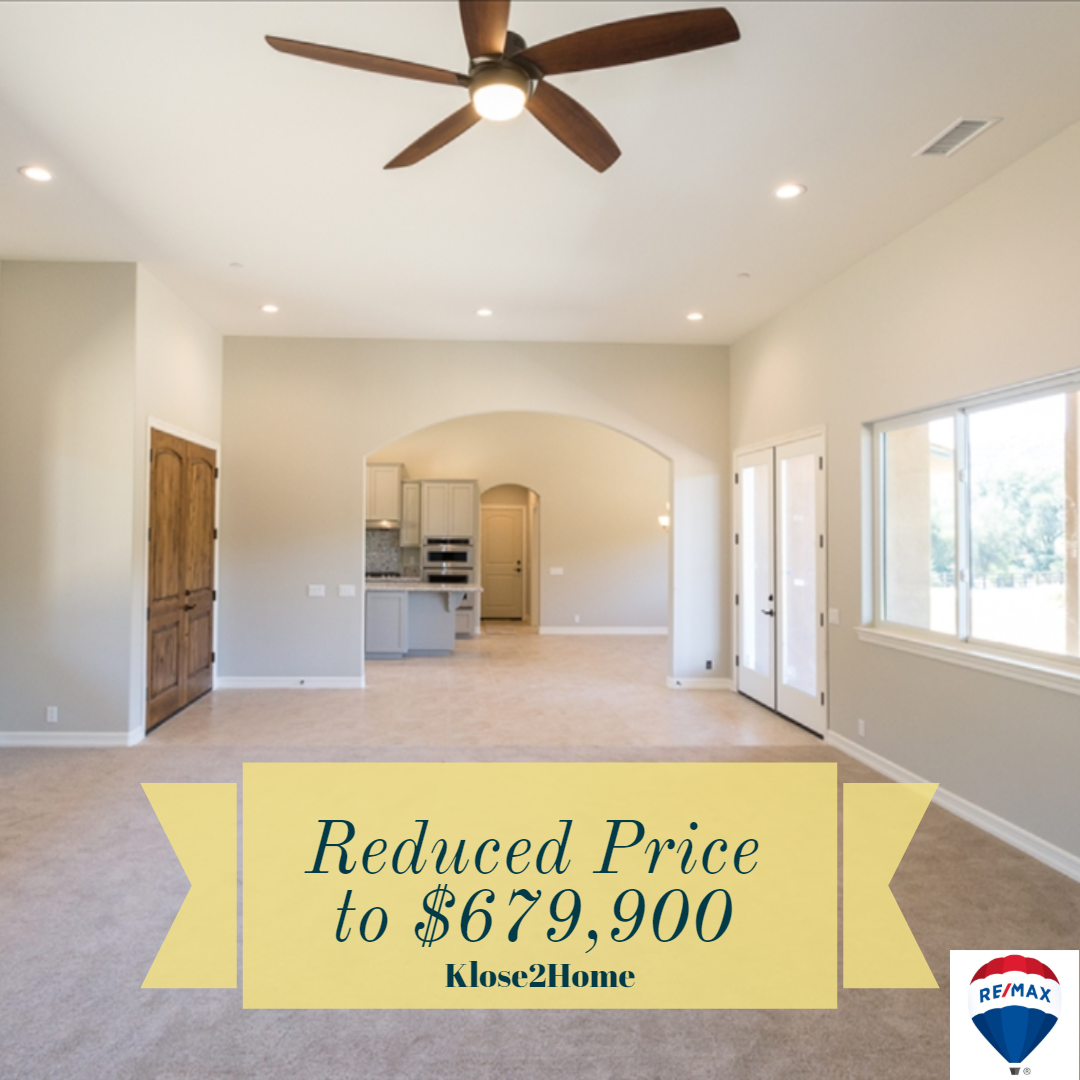 Reduced Prices To 679 900 New Home 3 Bed 2 1 2 Bath 3 Car Garage Spacious Open Floor Plan Features Soaring 12 Foot Huge Shower Great Rooms Open Floor Plan