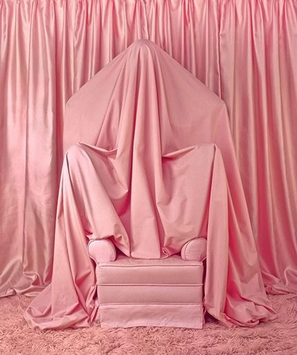 Indigostrikesback Patty Carroll Behind The Curtain Pink