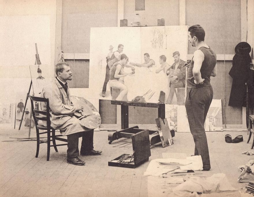 100 Famous Artists And Their Studios - Emile Friant