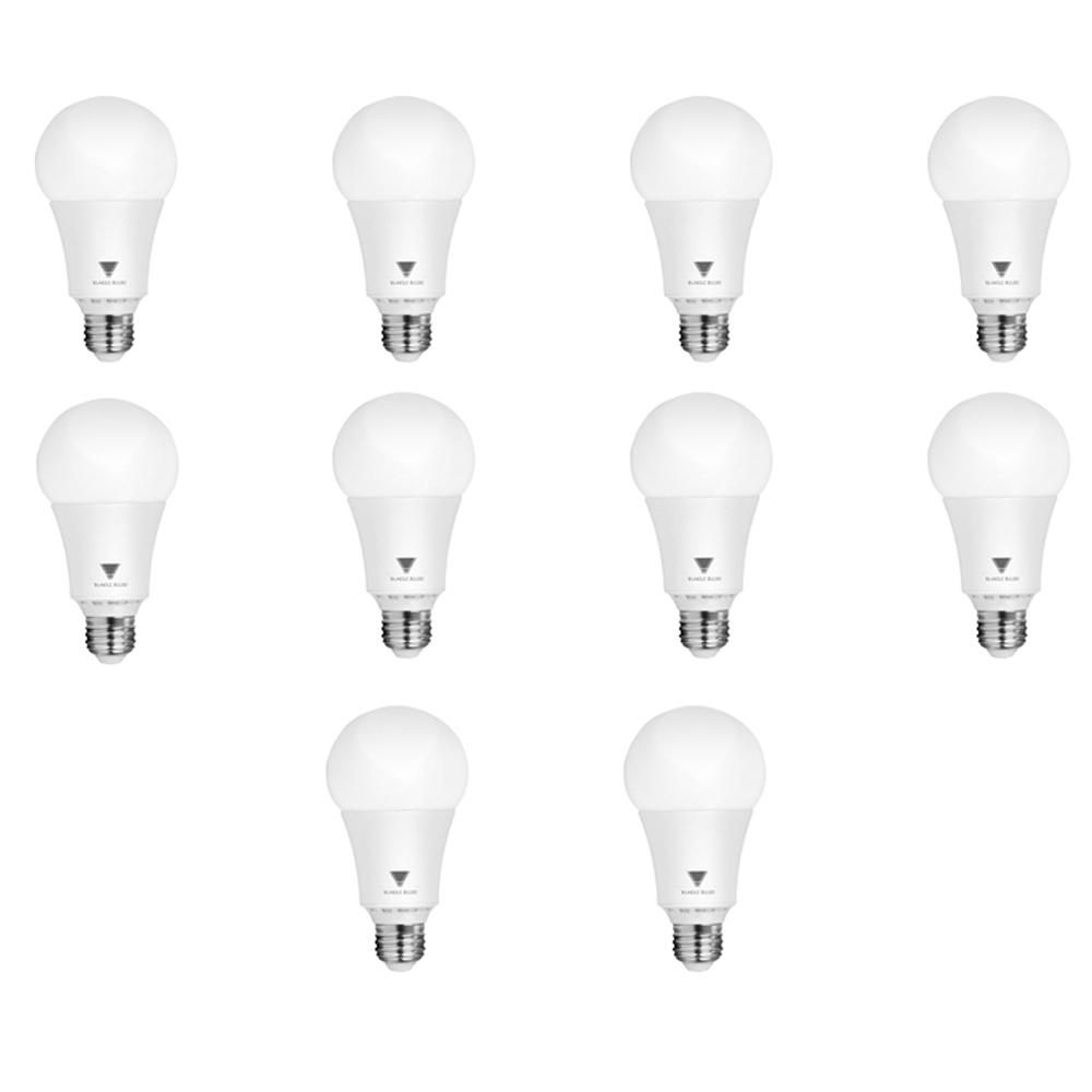 Triglow 100 Watt Equivalent A21 Dimmable 1 600 Lumens Led Light Bulb Daylight 10 Pack Light Bulb Dimmable Led Lights Bulb