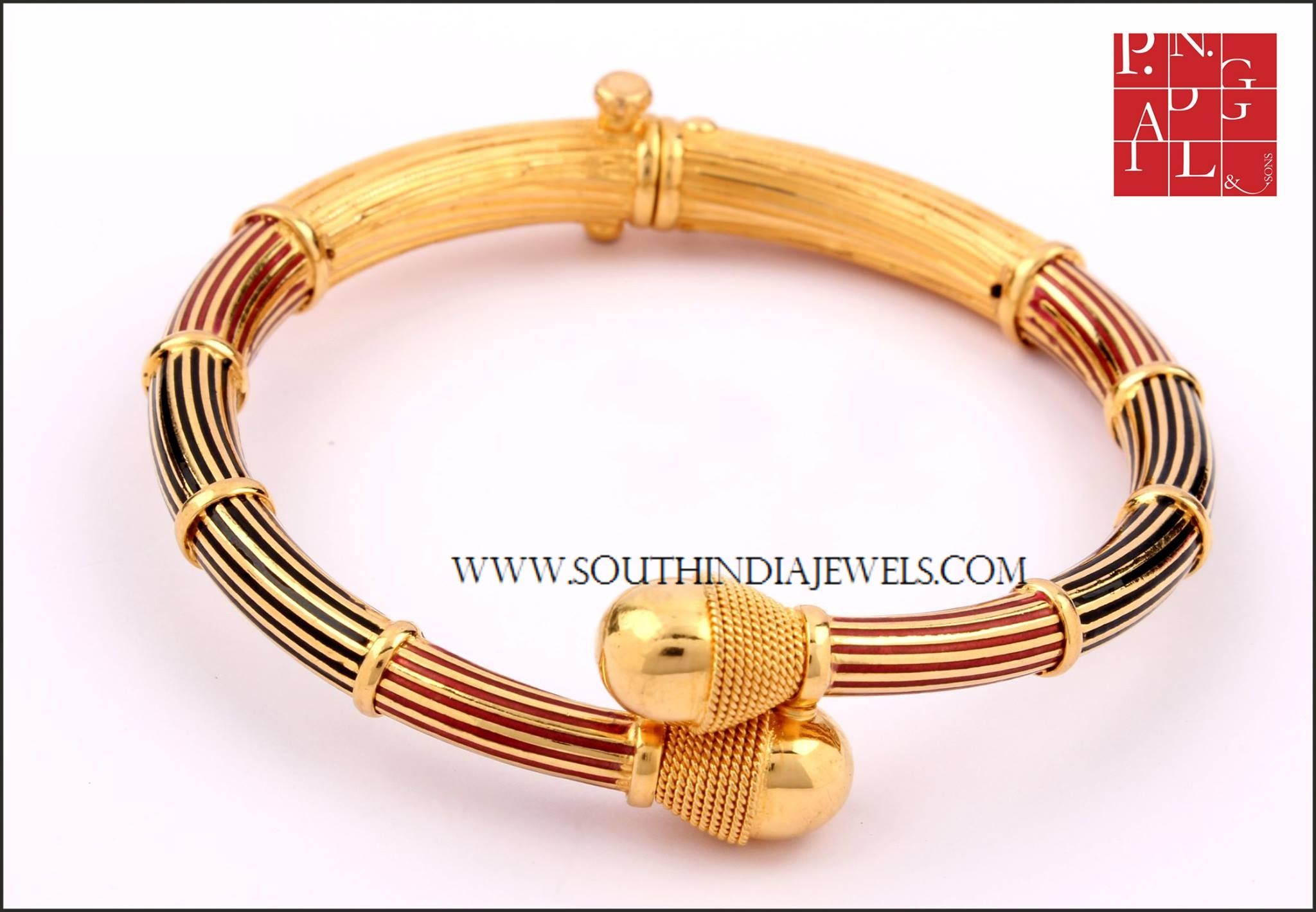 30 Grams Gold Bracelet From PN Gadgil & Sons | Bracelet designs ...