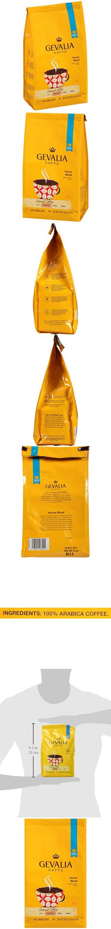 Gevalia House Blend Coffee, Medium Roast, 20.0 Ounce