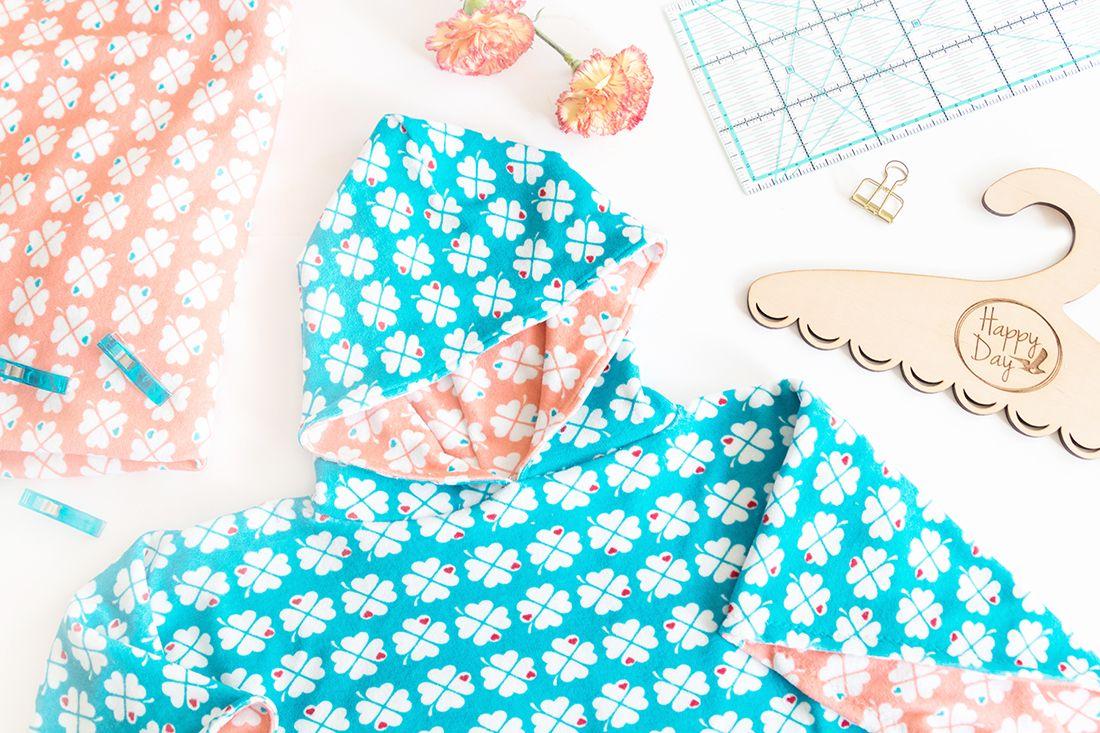 DIY Strandponcho für Kinder nähen | ** Baby sewing ...