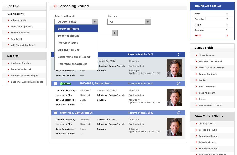 Applicant Tracking System Job Board Software, Job Board