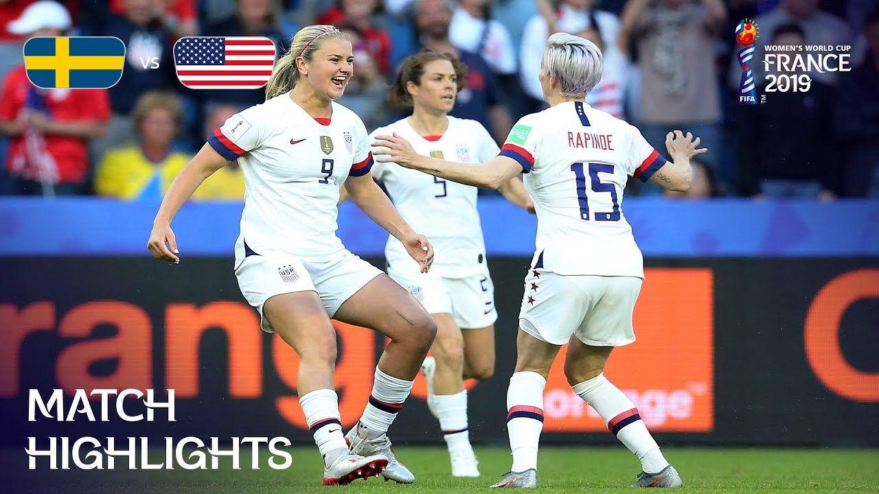 Sweden v USA FIFA Women's World Cup France 2019™ World