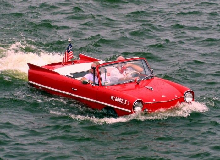 Cars of Futures Past – 1961-1968 Amphicar 770 | Hemmings Daily