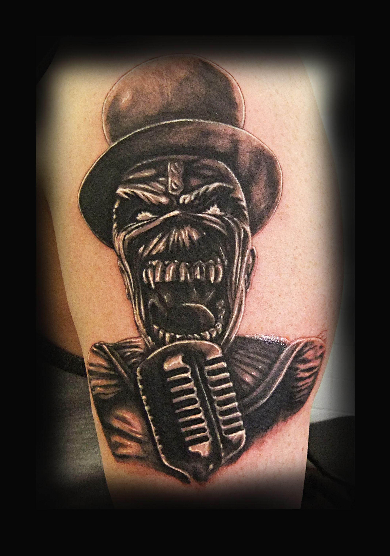 Designs eddie tattoo iron maiden The 20