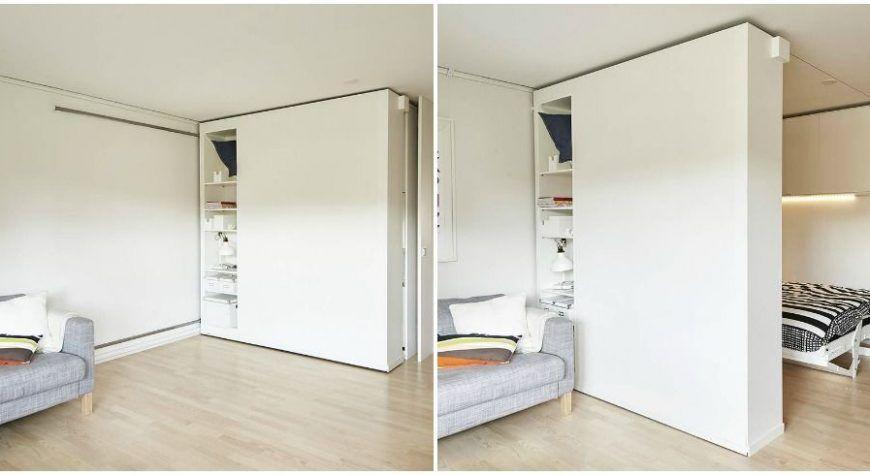Des Cloisons Mobiles Pour Adapter Le Volume De Mes Combles A Mes Envies Cloison Mobile Cloison Petits Espaces Ikea