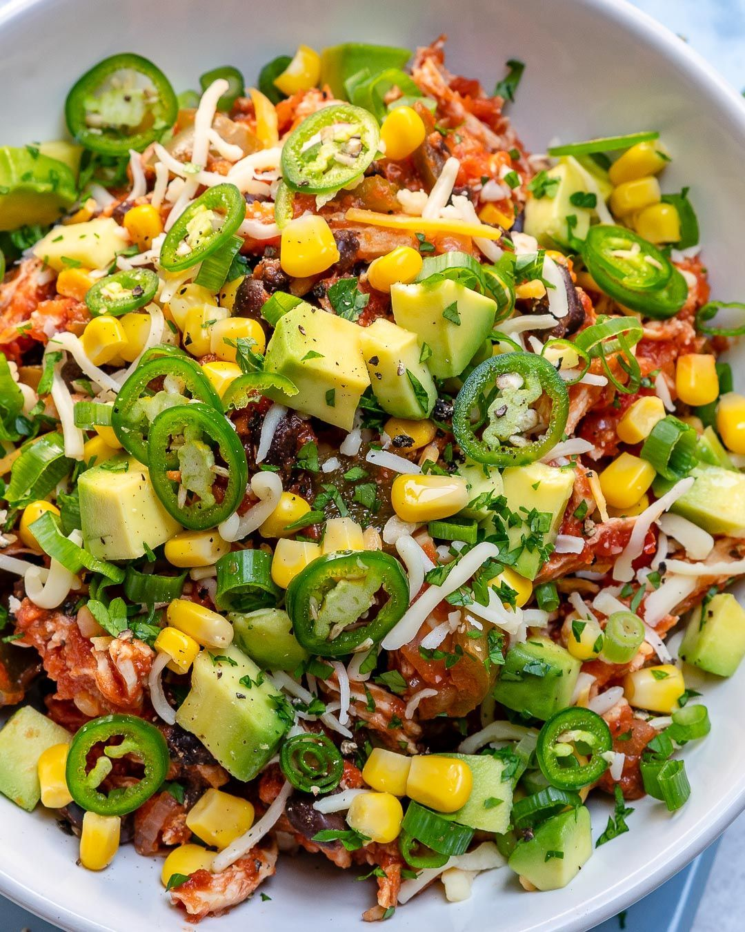 Clean Eating Crockpot Mexican Chicken Bowls Recipe Clean Recipes Clean Eating Food Crush