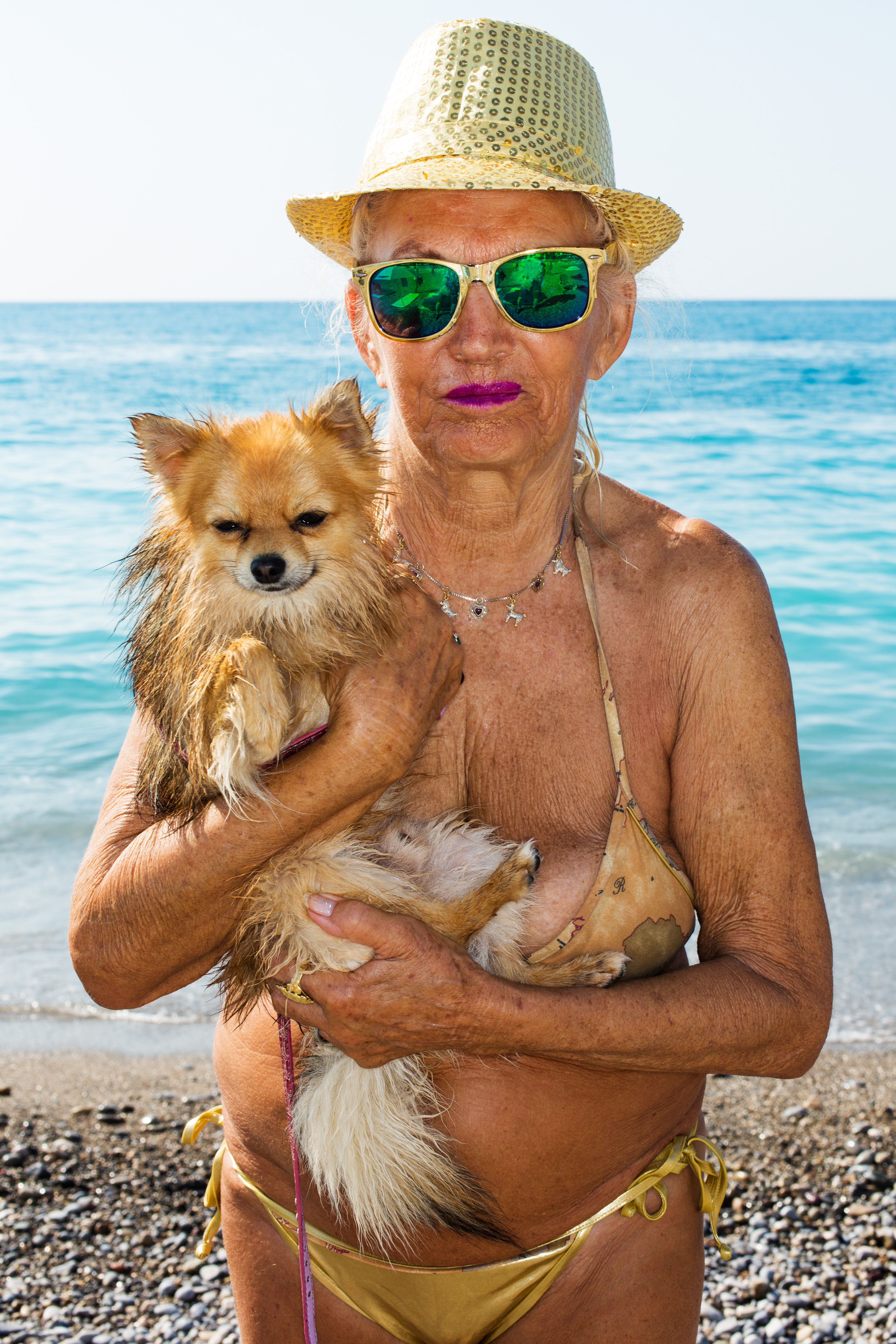 Boobies!!! Nice, France. From 'A #Nice Pop Up Show.' 2015. © #MartinParr