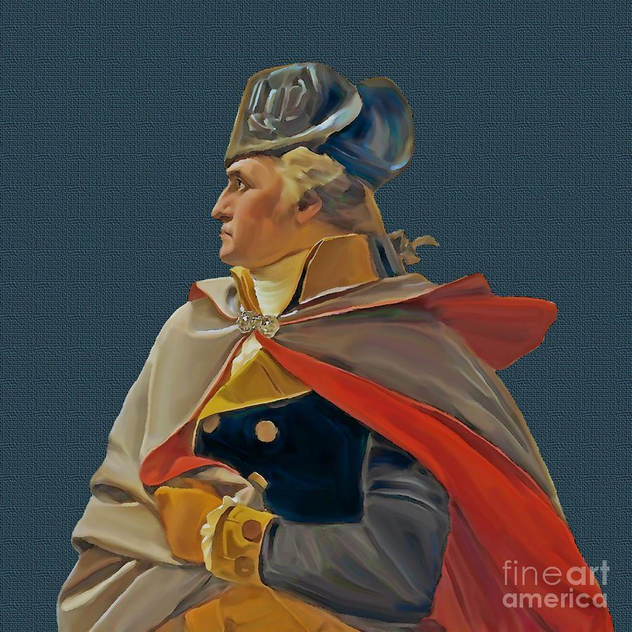 General Washington Prints  General George Washington Painting