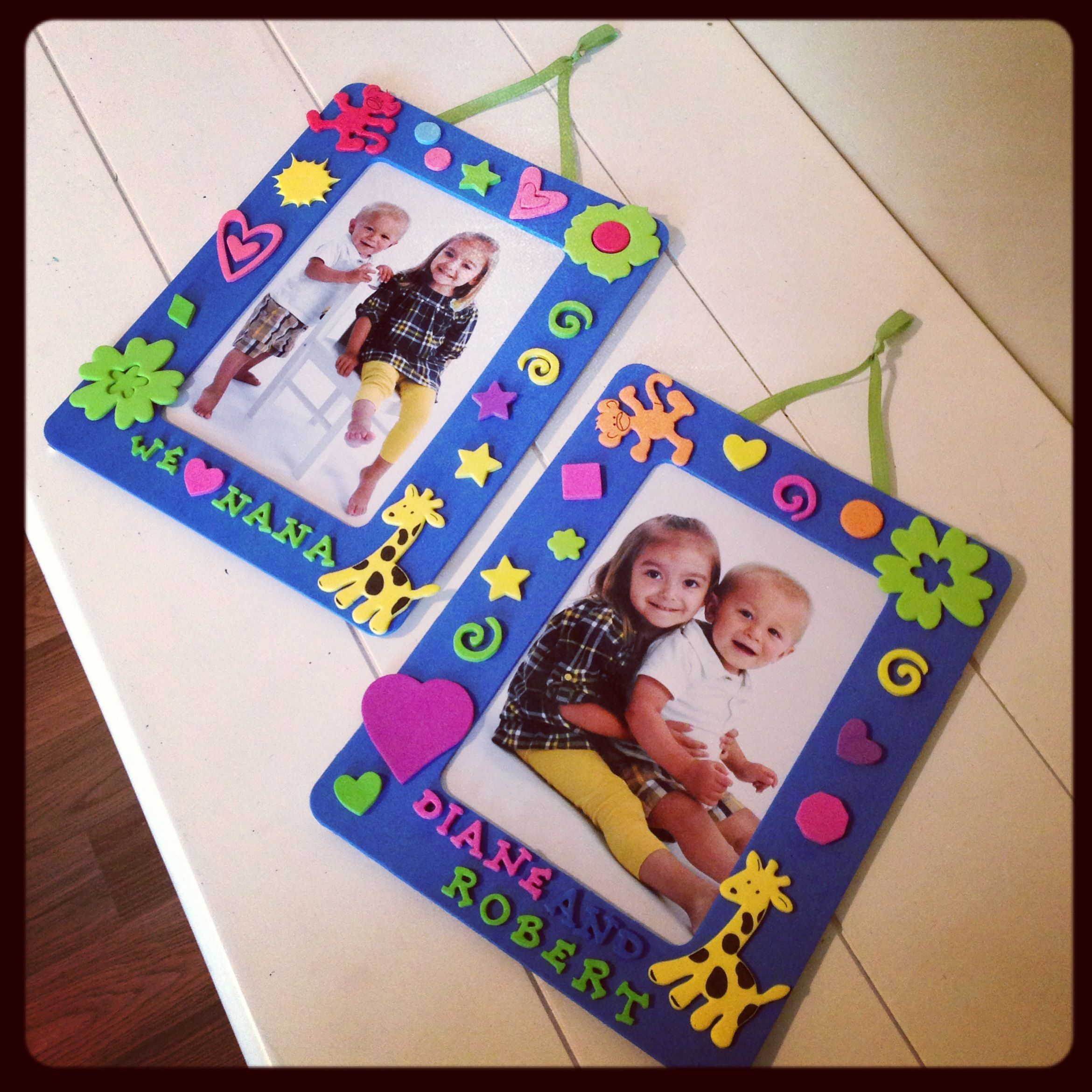 Memory foam for crafts - We Have Done A Bunch Of Things With Foam But I Just Love These Frames