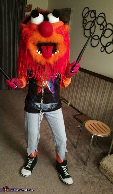 Animal from the Muppets - 2015 Halloween Costume Contest via @costume_works