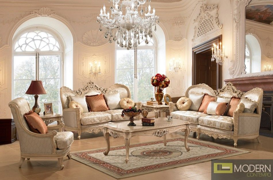 Luxury Traditional Living Room Furniture In 2020 Formal Living Room Sets Elegant Living Room Furniture Formal Living Room Furniture