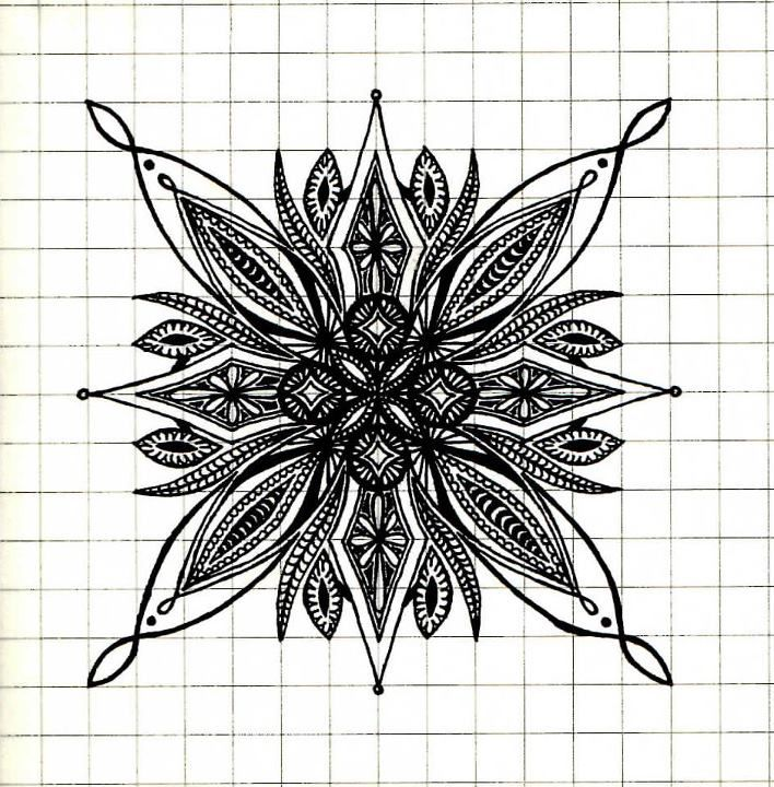 Symmetry By Owlesque Zentangles Are The New Black Pinterest