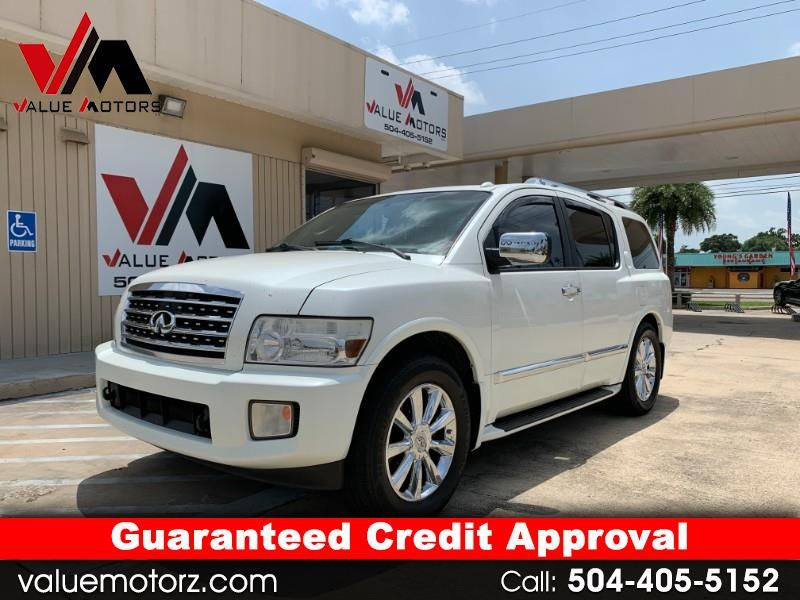 Used 2008 Infiniti QX56 RWD for Sale in MetairieBaton