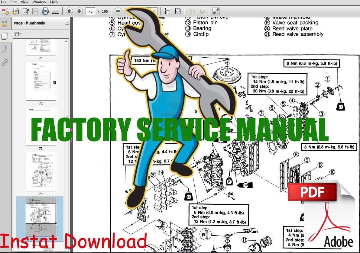2002 Yamaha F15 Msha Outboard Service Repair Maintenance Manual Factory Repair And Maintenance Outboard Repair