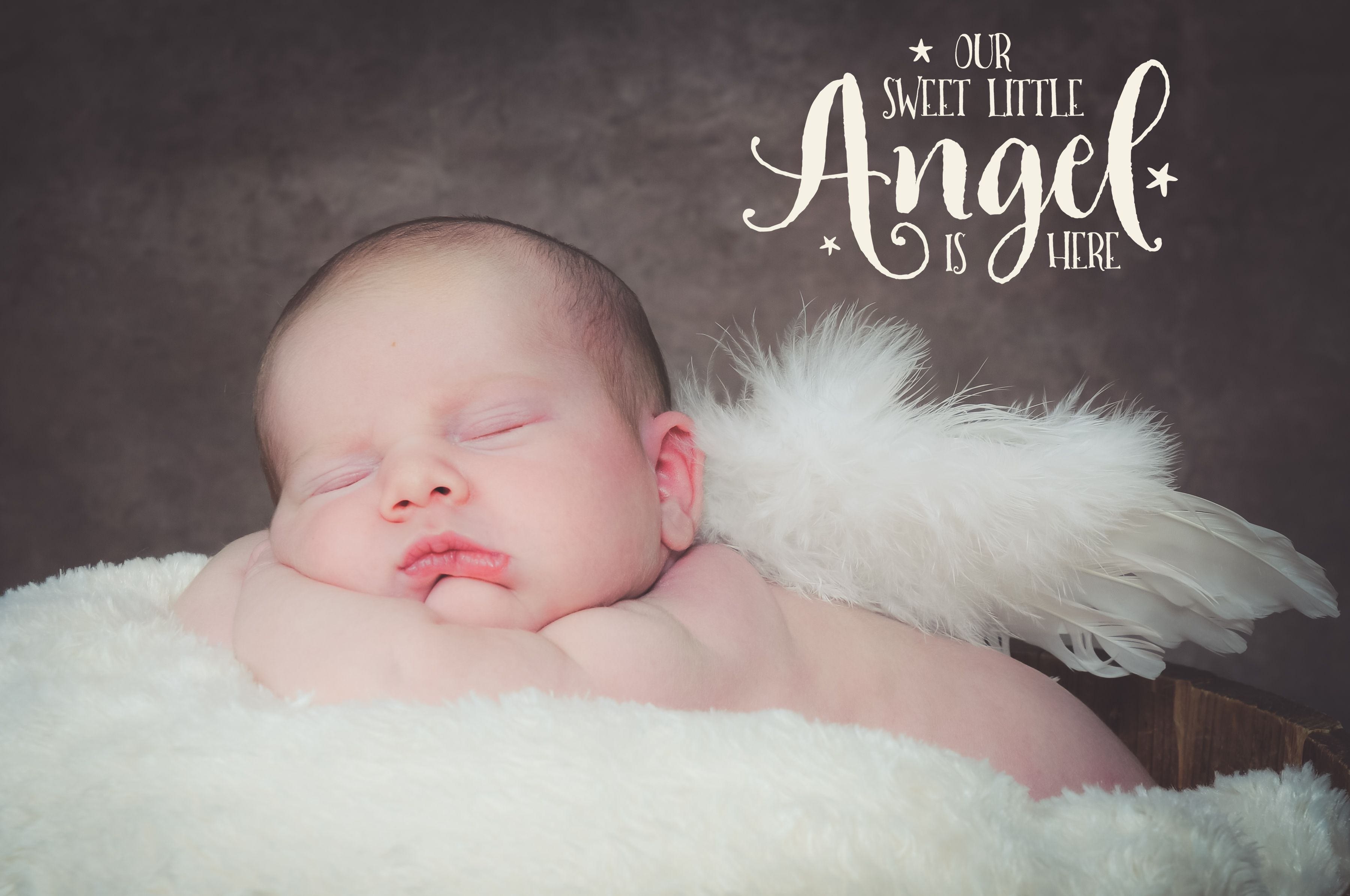 91b398770 a baby girl using angel wings as props an her newborn photoshoot ...