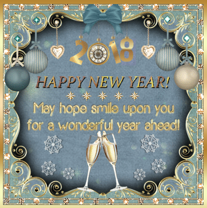 Best Happy New Year 2018 Greeting Card With Wishes New Year Greeting Messages Happy New Year Greetings Happy New Year Wishes