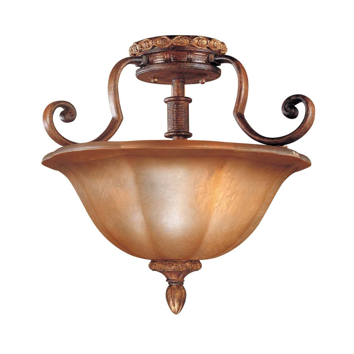 Shop Minka Lavery  6357-177 3 Light Semi Flush Ceiling Light, Illuminati Bronze™ at ATG Stores. Browse our semi flush ceiling lights, all with free shipping and best price guaranteed.