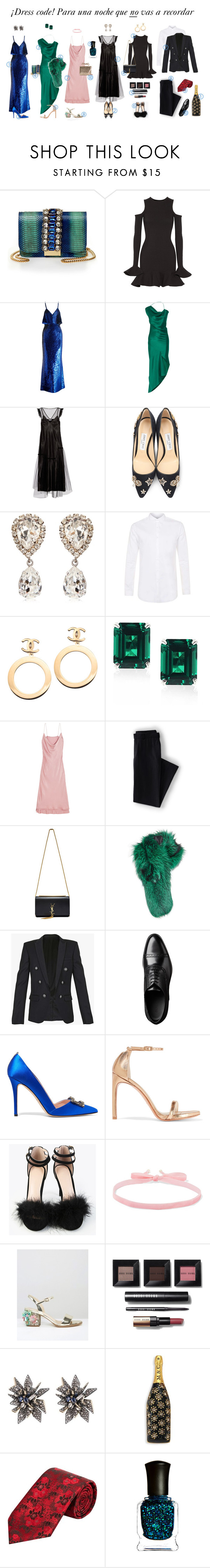 """""""Sin título #585"""" by katarias ❤ liked on Polyvore featuring GEDEBE, Michael Lo Sordo, Ashish, Cushnie Et Ochs, Opening Ceremony, Jimmy Choo, Dolce&Gabbana, Topman, Chanel and CARAT* London"""