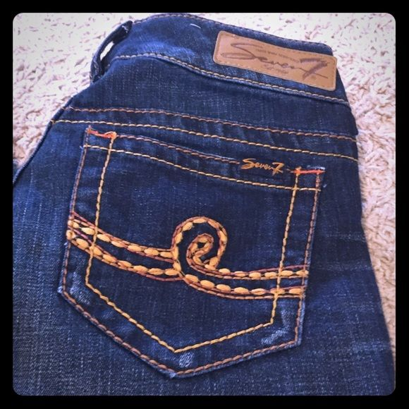 Seven7 Boot Cut Jeans Seven7 Boot Cut Jeans - size 27. Like new condition. Seven7 Jeans Boot Cut