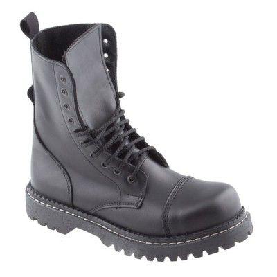Glany Wysokie 10 Oczek Skora Blacha Polskie 38 46 4813146249 Oficjalne Archiwum Allegro Combat Boots Army Boot Boots