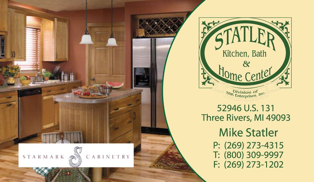 Statler Kitchen Design Business Card Business Design Kitchen